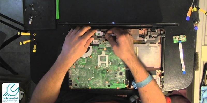 تعمیر لپ تاپ توشیبا در کرج